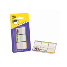 3M Post-it Index Strong, 3x12 Tabs, pink/orange/grün