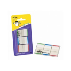3M Post-it Index Strong, 3x12 Tabs, grün/blue/rot