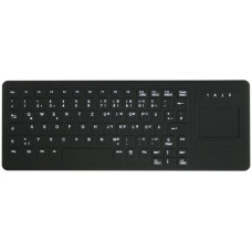 Active Key Keyboard for medical use, can be disinfected, with Touchpad, USB