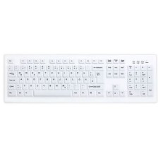 Active Key Medical Keyboard, White, USB 2.4Ghz, with Interchangeable Membrane