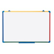 Bi-Office Whiteboard for children 600x450 mm, with colored frame