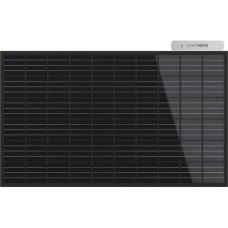 LIGHTMATE Garden black, Solarpanel 300W, Plug-in Photovoltaik with blackem  Panel