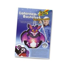 Folia bat lantern kit, including assembly instructions