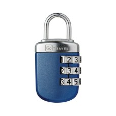 GOTravel Gepäckschloss Big Wheel Padlock, blue