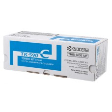 Toner Kyocera TK-590C, for FS-C2026/2126MFP, cyan, ca. 5'000 S.  at 5% cover
