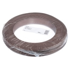 T-Draht 1.5mm2, braun, 100m, CU blank, Isolation PVC