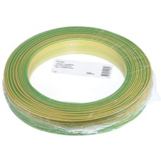 T-Draht 1.5mm2, blue, 100m, CU blank, Isolation PVC