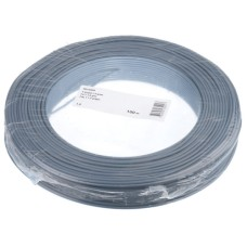 T-Draht 1.5mm2, grey, 100m, CU blank, Isolation PVC