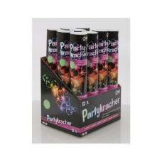Olympia confetti cannon PK3, different confetti strips, 12 tubes