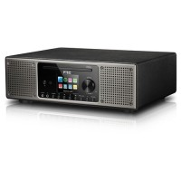 P TEC Pilatus II, DAB+ and Internetradio, black, Bluetooth, WLAN, CD, USB