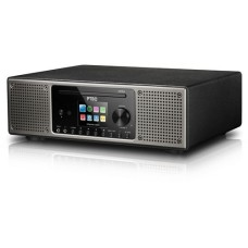 P TEC Pilatus II, DAB+ and Internetradio, black, Bluetooth, WLAN, CD, USB. Spotify