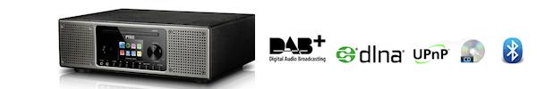P-Tec Pilatus II - DAB+ - Spotifiy - Internet radio