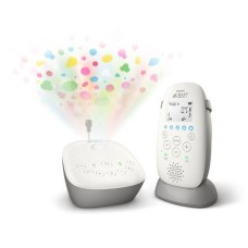 Philips Avent Babyphone Smart-Eco, mit Sternenhimmel SCD733/26