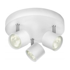 Philips MyLiving LED-Spot 56243/31/16, Weiss, LED 3x4W, 2700K, 15000h, IP20