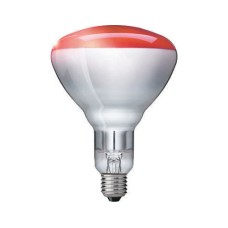 Philips lampe infrarouge BR125 250W, E27, 5000h, rouge , verre dur