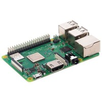 Raspberry Pi 3 Typ B+ micro-controleur, Quadcore 1.4Ghz, 1GB, wifi ac, bluetooth 4.0