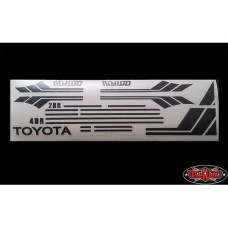 Mojave Body Decal clean stripes