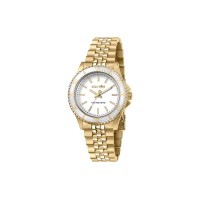 Sector Ladies' watch, 230 R3253161526, white dial, yellow metal strap