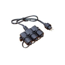 Gardenlights cableverteiler 3fach, for 12V, Garden Lights, IP44,