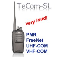 Team TeCom-SL - Prof. radio  UHF - 4 Watts - usage require authorization