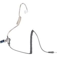 Team JD-ET4/KL Security Headset - Clear tube hearset and microphome with sending key, Plug L Type