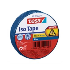 tesa Iso Tape Isolierband - blue, 20m x 19mm