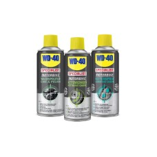 WD-40 MOTORBIKE TRIPLE PACK, CHAIN LUBE CHAIN CLEANER WAX POLISH