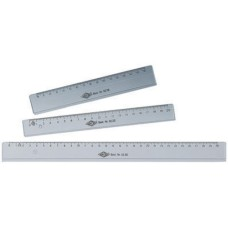 WEDO plastic ruler 30cm, transparent, 20 pces
