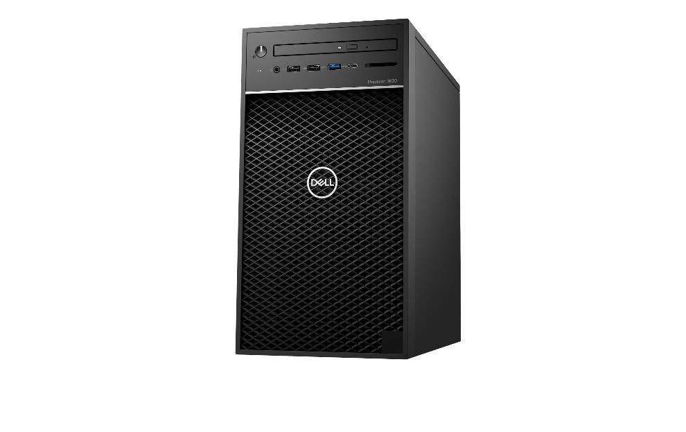 Dell Precision 3630 MT, Xeon E-2274G,W10WS, 16GB, 512GB SSD, DVD-RW,UHD 630, 3Yr PS NBD